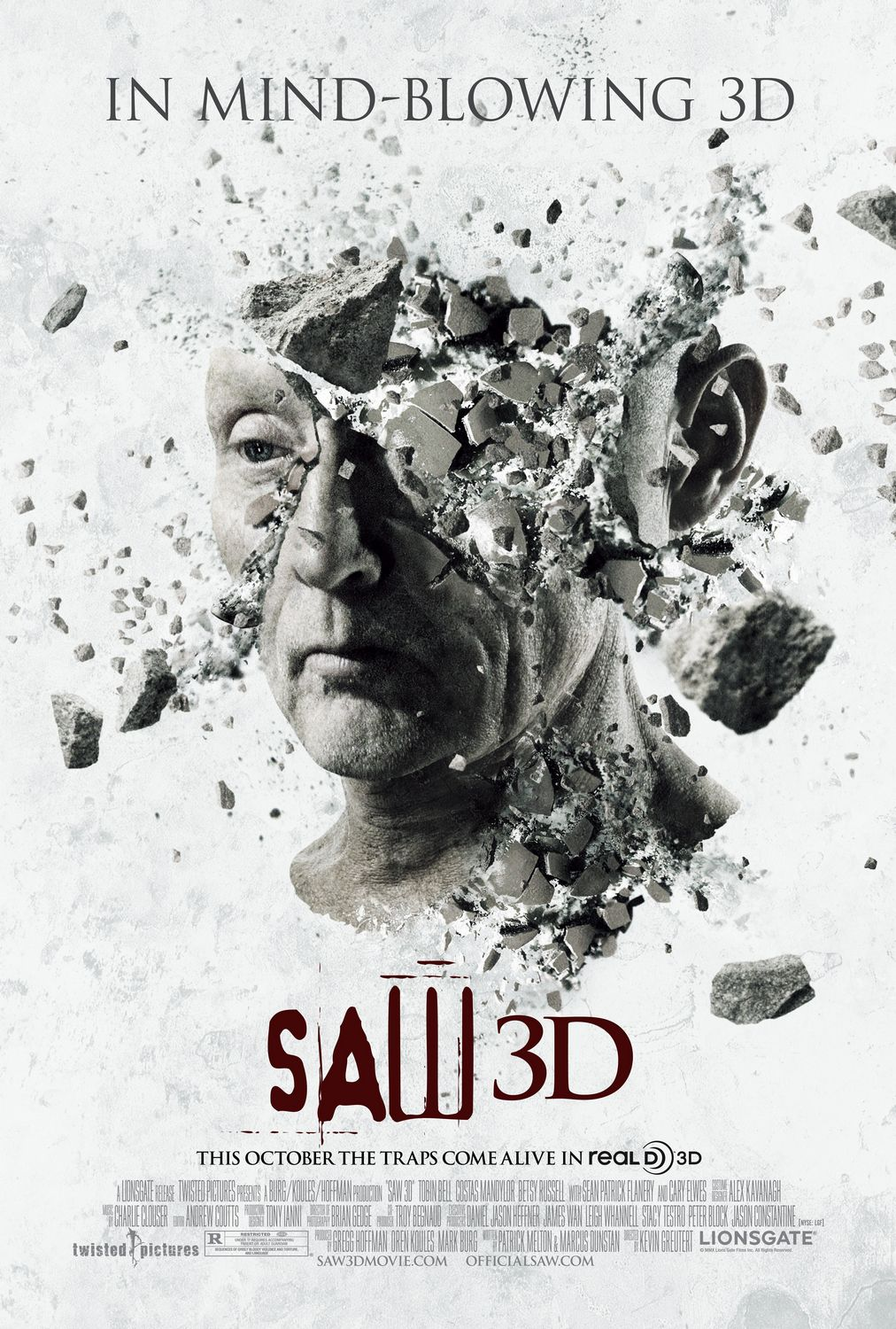 Gradly » Amazing SAW 3D Mind Blowing Poster + Motion Poster