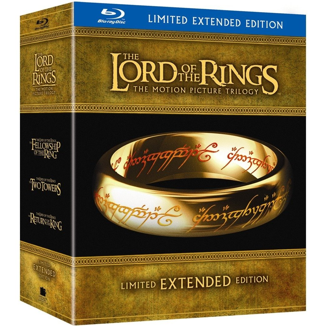 Lord Of The Rings Extended Box Set