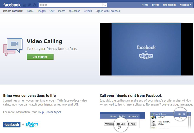Gradly » Facebook Announces In-Browser Video Calling ...