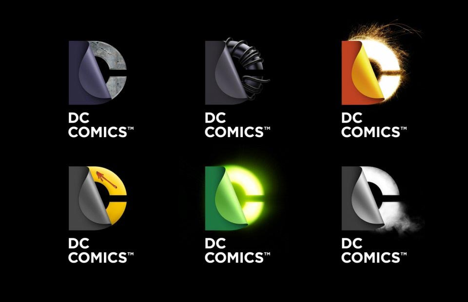 DC Entertainment Logo Versions