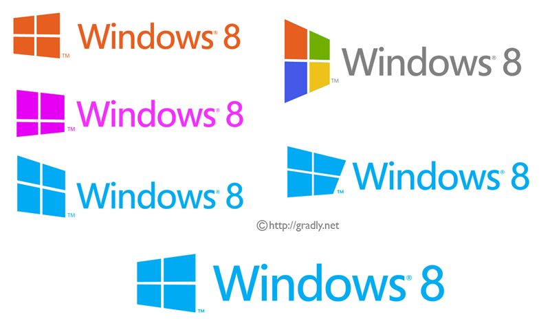 Windows 8 Rejected Logos