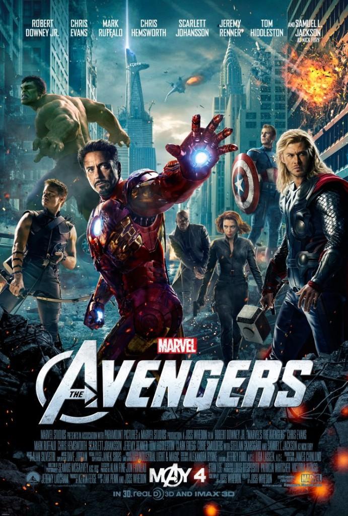 The Avengers New Poster