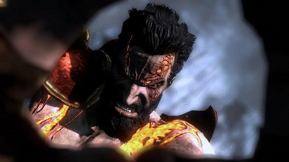Kratos' brother, Deimos