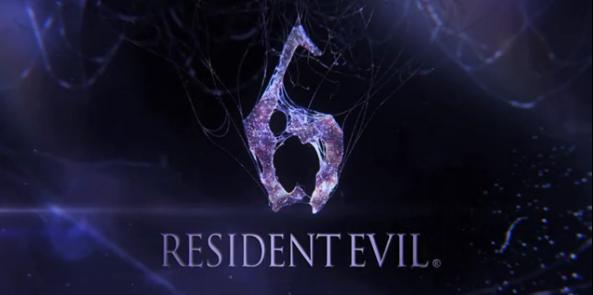 Resident Evil 6 title