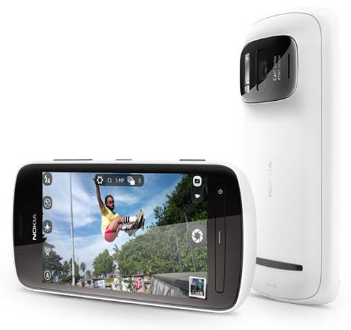 Nokia 808 41-megapixel PureView Camera