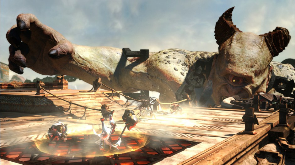 God of War 2 Gameplay http://gradly.net/2012/04/30/god-of-war-ascension-first-epic-gameplay-video/