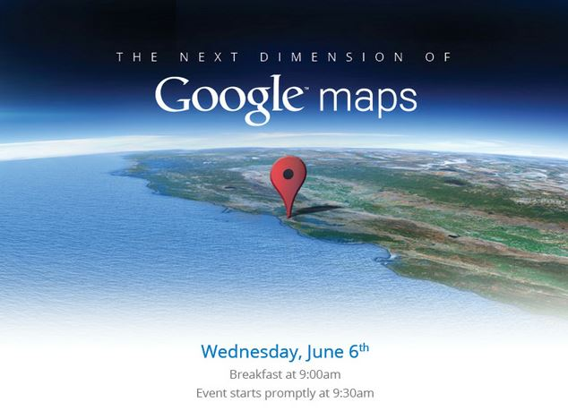 Google to Hold Maps Event Ahead of Apple's WWDC