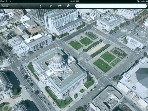 Google New 3D Maps Unveiled, Coming to iOS and Android