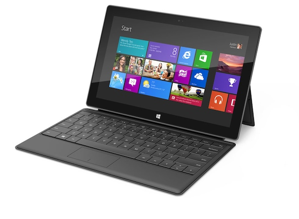 Microsoft Launches its Own Tablet: The Surface