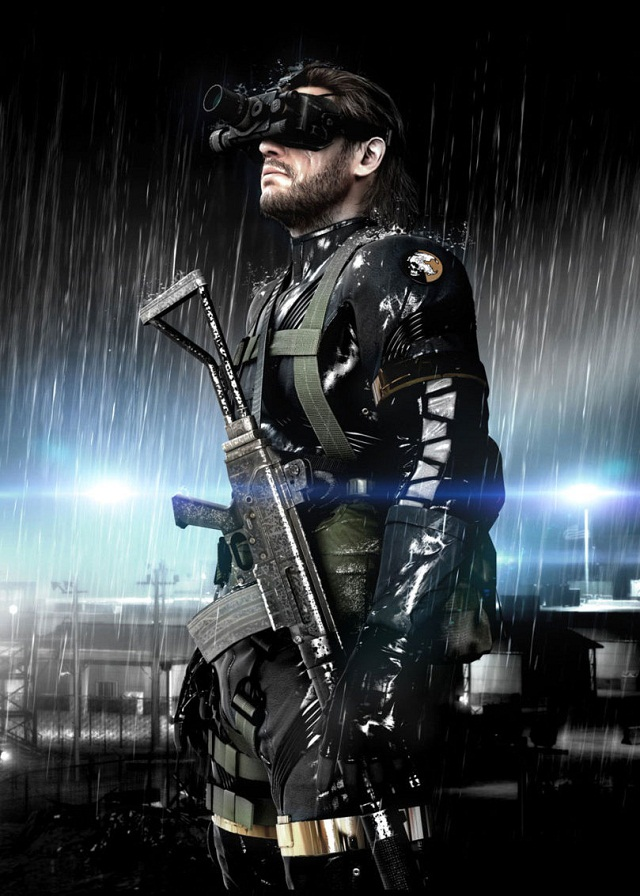 Metal Gear Solid: Ground Zeroes Announced, Running on Fox Engine