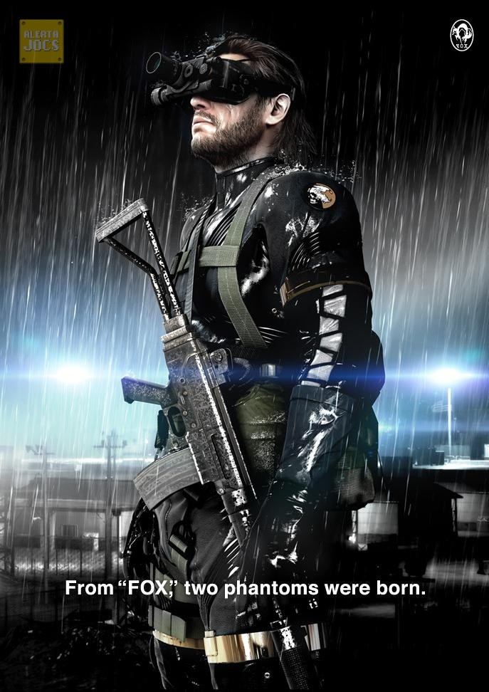 Metal Gear Solid: Ground Zeroes Big Boss/Naked Snake