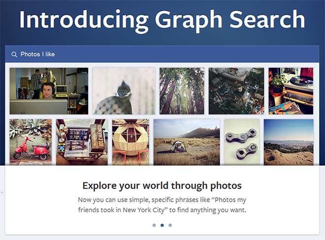 Facebook Unveils Graph Search