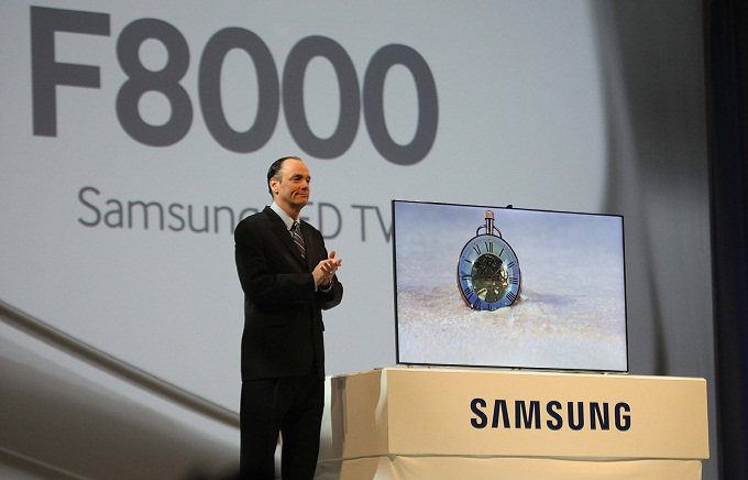 Samsung Unveils New Smart TV F8000
