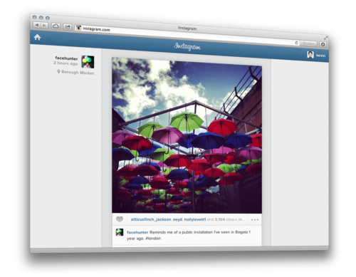 Instagram Feeds Now Available on The Web