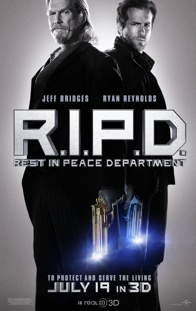 R.I.P.D. First Movie Trailer Released