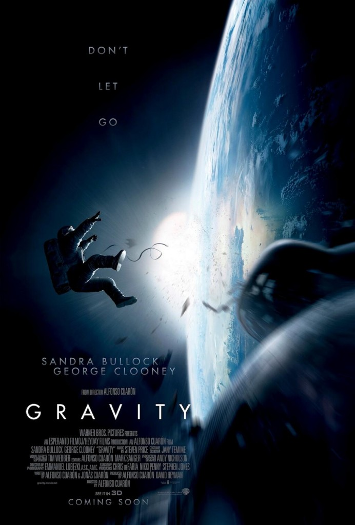 Space Thriller Movie, Gravity, First Teaser Trailer