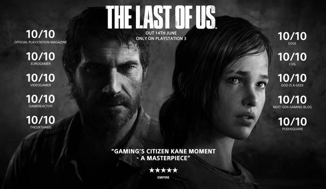 The Last of Us Reviews Perfect Scores