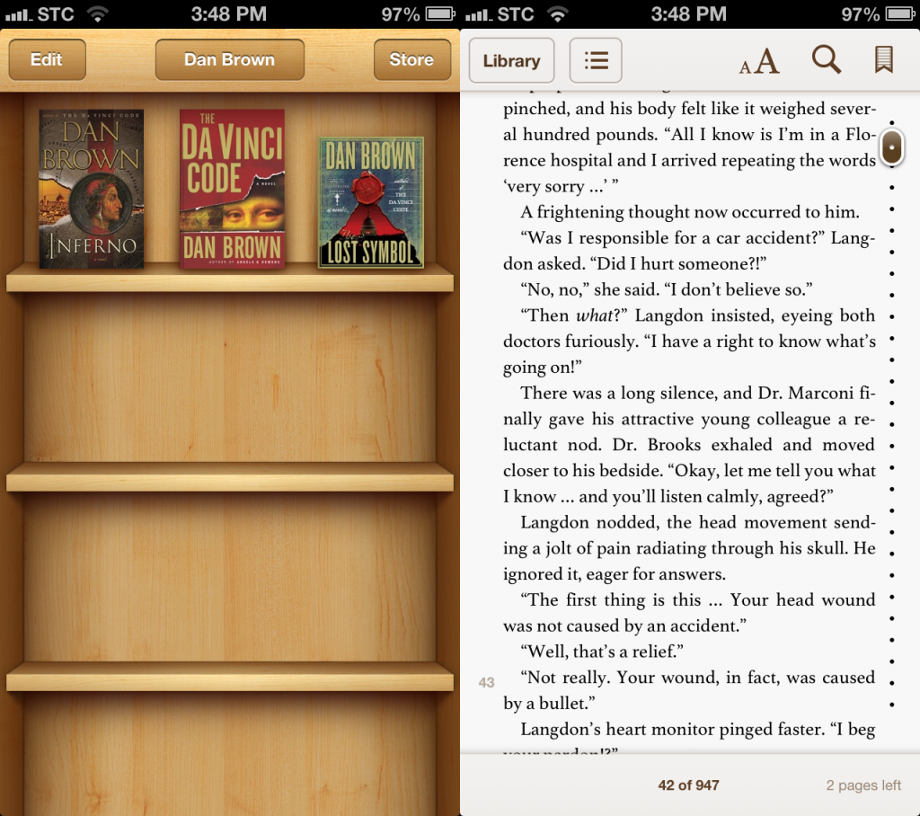iBooks in iOS6