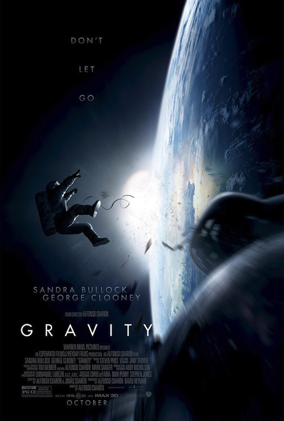 Gravity: Three New Intense Trailers Released
