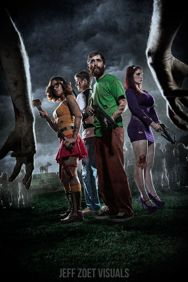 Scooby-Doo vs. the Zombie Apocalypse Cosplayers