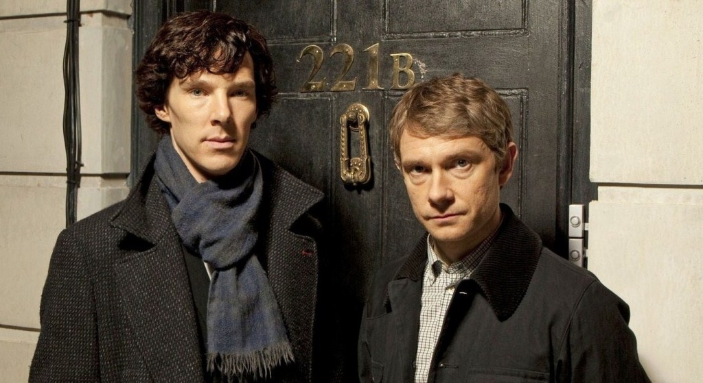BBC Sherlock S03E01 The Empty Hearse