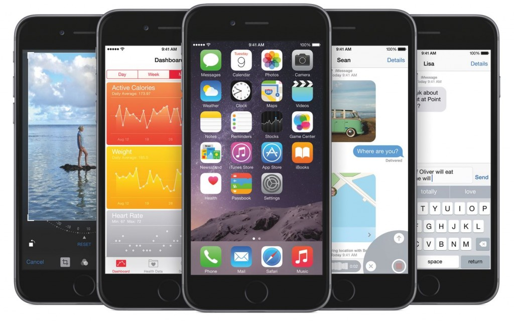 Apple releases iOS 8 for iPhone, iPad and iPod touch